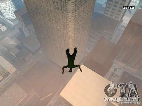 Parkour Mod for GTA San Andreas fifth screenshot