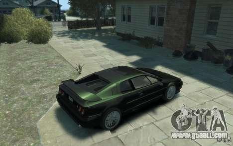 Lotus Esprit V8 for GTA 4 right view