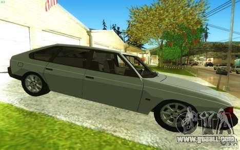 2141 AZLK v2.0 for GTA San Andreas left view