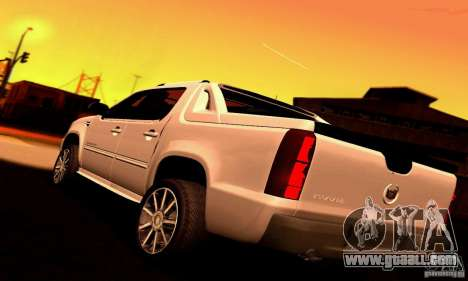 Cadillac Escalade Ext for GTA San Andreas left view
