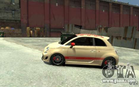 Fiat 500 Abarth Esseesse V1.0 for GTA 4 left view