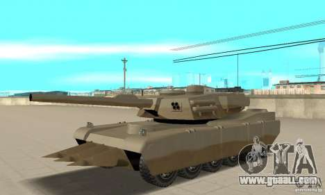 Lame nel Rhino tank for GTA San Andreas