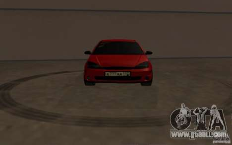 Ford Focus Light Tuning for GTA San Andreas inner view