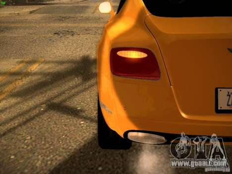 Bentley Continental GT 2011 for GTA San Andreas side view