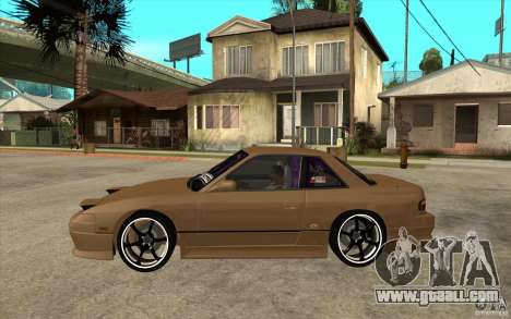 Nissan Silvia S13 Onevia Tuned for GTA San Andreas left view