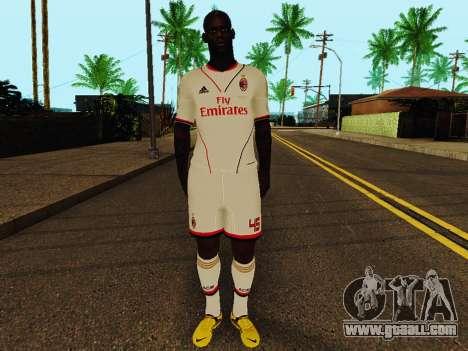 Mario Balotelli v2 for GTA San Andreas