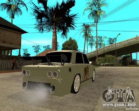Vaz 2101 D-LUXE for GTA San Andreas back left view