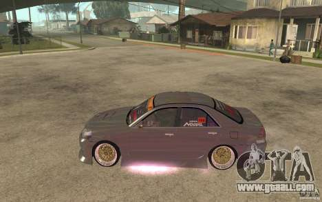 Toyota JZX110 Chaser V.I.P. Drifter for GTA San Andreas left view