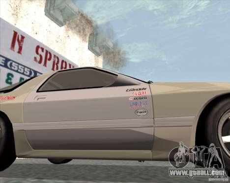 Mazda Savanna RX-7 FC3S for GTA San Andreas right view
