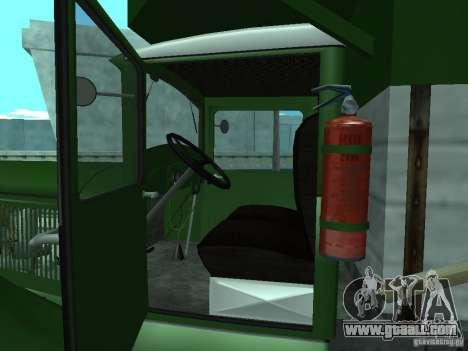 GAZ-AAA for GTA San Andreas back view