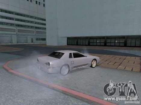 Elegy HD for GTA San Andreas inner view