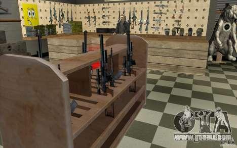 Weapon shop S. T. A. L. k. e. R for GTA San Andreas eighth screenshot