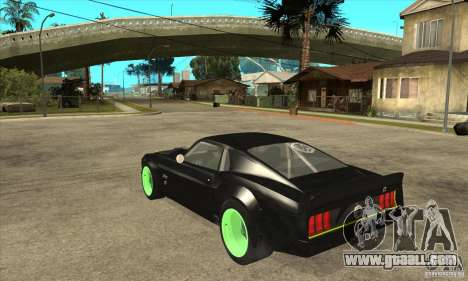 Ford Mustang RTR-X 1969 for GTA San Andreas back view