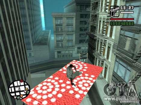 Flying Carpet for GTA San Andreas second screenshot
