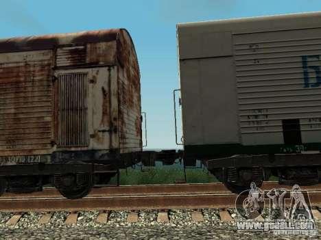 Refrežiratornyj wagon Dessau No. 5 prima audit for GTA San Andreas back view