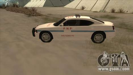 Dodge Charger PNP SAN FIERRO for GTA San Andreas left view