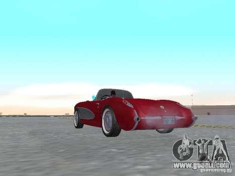 Chevrolet Corvette C1 for GTA San Andreas right view
