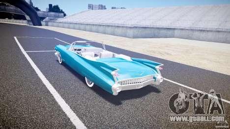 Cadillac Eldorado 1959 interior white for GTA 4 right view