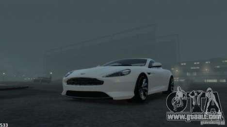 Aston Martin Virage 2012 v1.0 for GTA 4 engine