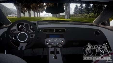 Chevrolet Camaro Police (Beta) for GTA 4 right view