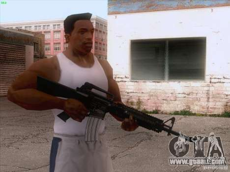 M16A4 for GTA San Andreas third screenshot