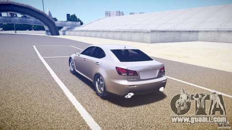 Lexus IS F for GTA 4 right view