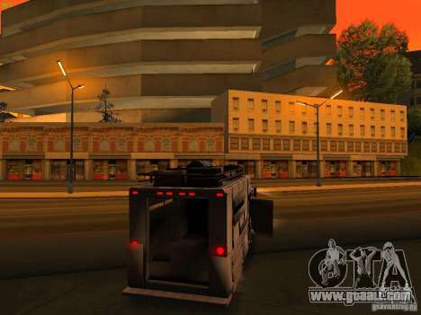 Monster Van for GTA San Andreas engine