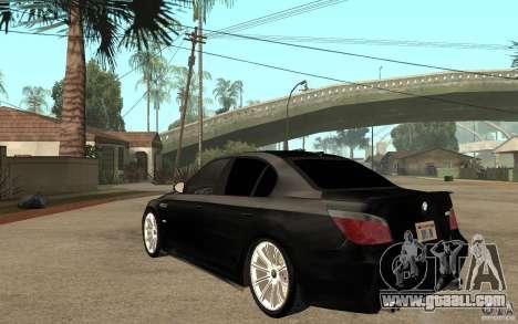 BMW M5 e60 for GTA San Andreas