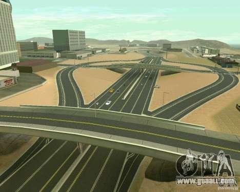 GTA 4 Road Las Venturas for GTA San Andreas eleventh screenshot