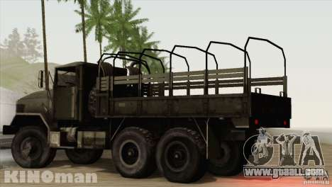 AM General m-939A2 1983 for GTA San Andreas left view
