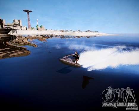 Jet Sky for GTA 4 left view