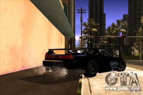 Acura NSX Tuned for GTA San Andreas side view