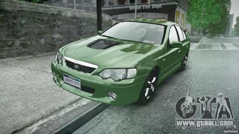 Ford Falcon XR8 2007 Rim 1 for GTA 4 back view