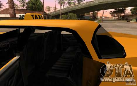 Glendale Cabbie for GTA San Andreas right view