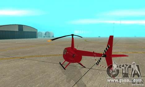 Robinson R44 Raven II NC 1.0 Skin 1 for GTA San Andreas right view
