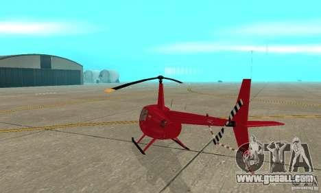 Robinson R44 Raven II NC 1.0 Skin 1 for GTA San Andreas right view