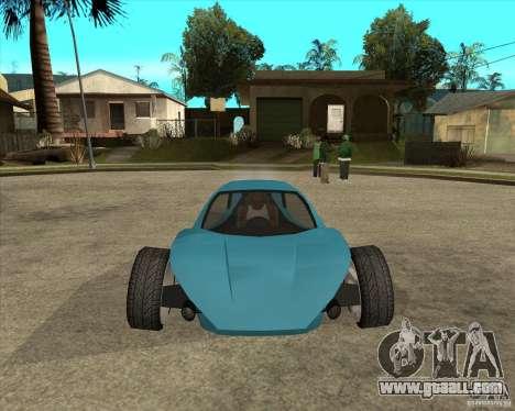 AP3 cobra for GTA San Andreas back view