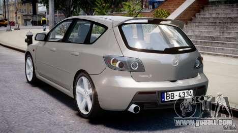 Mazda 3 2004 for GTA 4 upper view