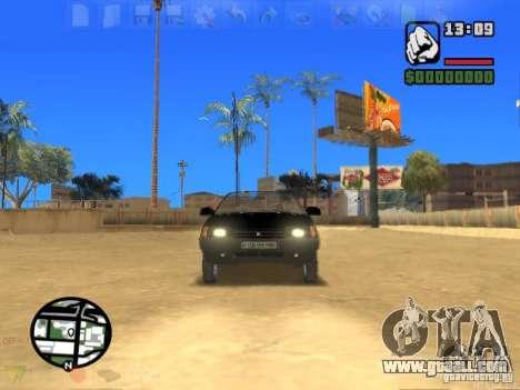 VAZ 2108 Convertible for GTA San Andreas right view