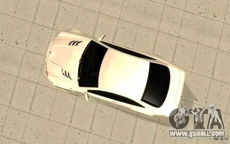 Mercedes-Benz CLK 500 Kompressor for GTA San Andreas back view