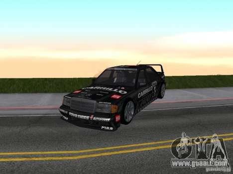 Mercedes-Benz 190E Racing Kit1 for GTA San Andreas