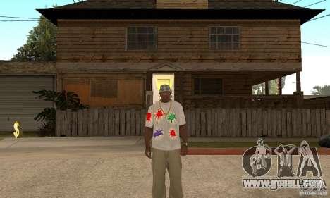 Gotcha Shirt for GTA San Andreas