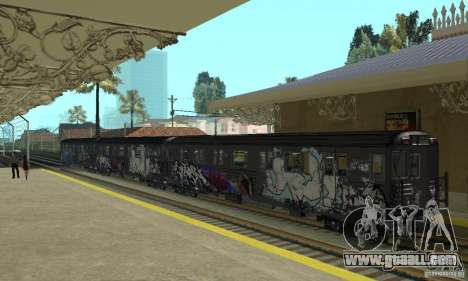 GTA IV Enterable Train for GTA San Andreas