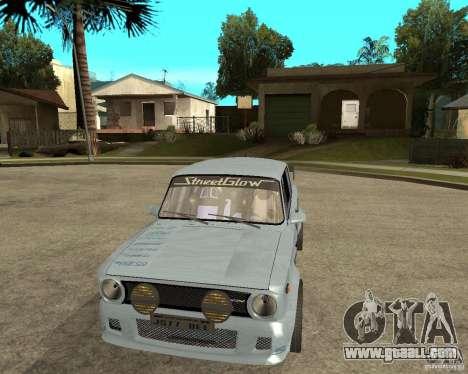 VAZ 2101 car tuning for GTA San Andreas back view