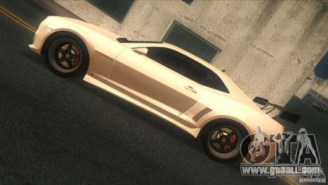 Chevrolet Camaro SS Dr Pepper Edition for GTA San Andreas back left view