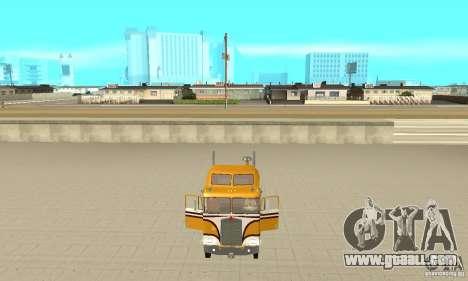 Kenworth K100C Aerodyne for GTA San Andreas back view