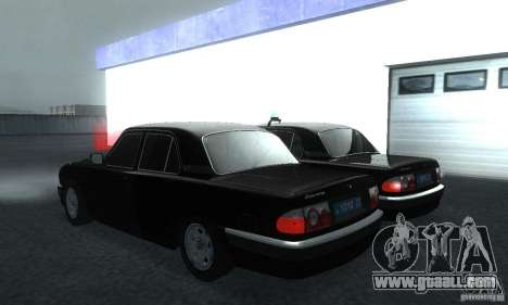 GAZ Volga 31105 Attorney for GTA San Andreas left view