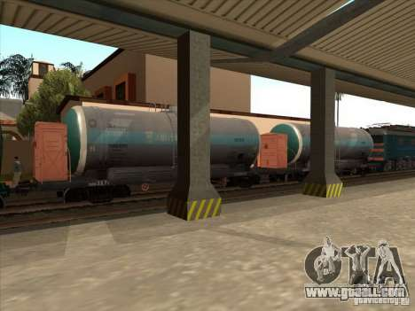 Tank # 57929572 for GTA San Andreas left view