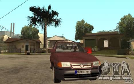 Opel Astra SW 1.6 1994 for GTA San Andreas back view