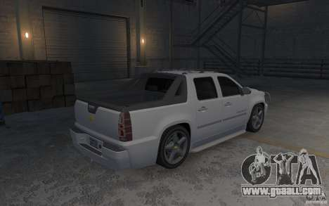 Chevrolet Avalanche v1.0 for GTA 4 right view